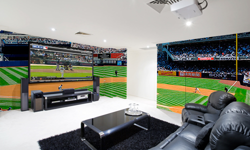 Man cave gallery pictures